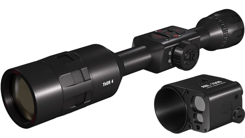 ATN ThOR 4 640 4-40x Thermal Smart HD Rifle Scope