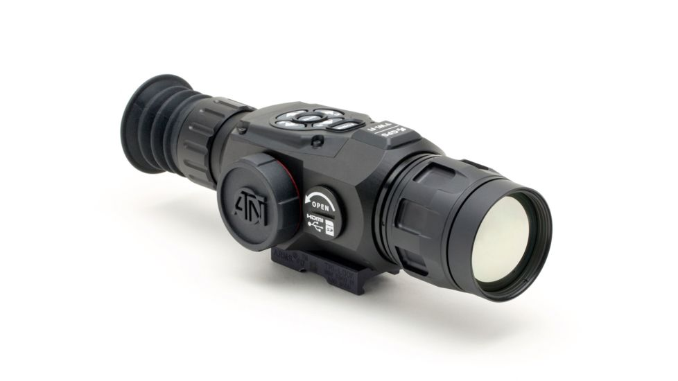 ATN ThOR-HD 2.5-25x 50 mm Thermal Imaging Rifle Scopes – The Best Thermal Scope with Smart Assistance