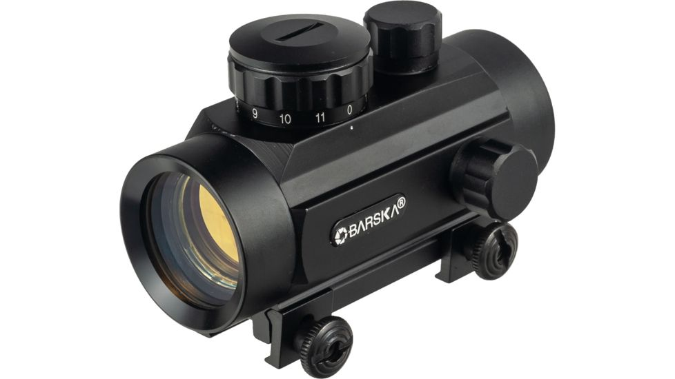 Barska 1x30 Red Dot Scopes AC10328 - 30mm Red Dot Sights w/ 5 MOA Reticle