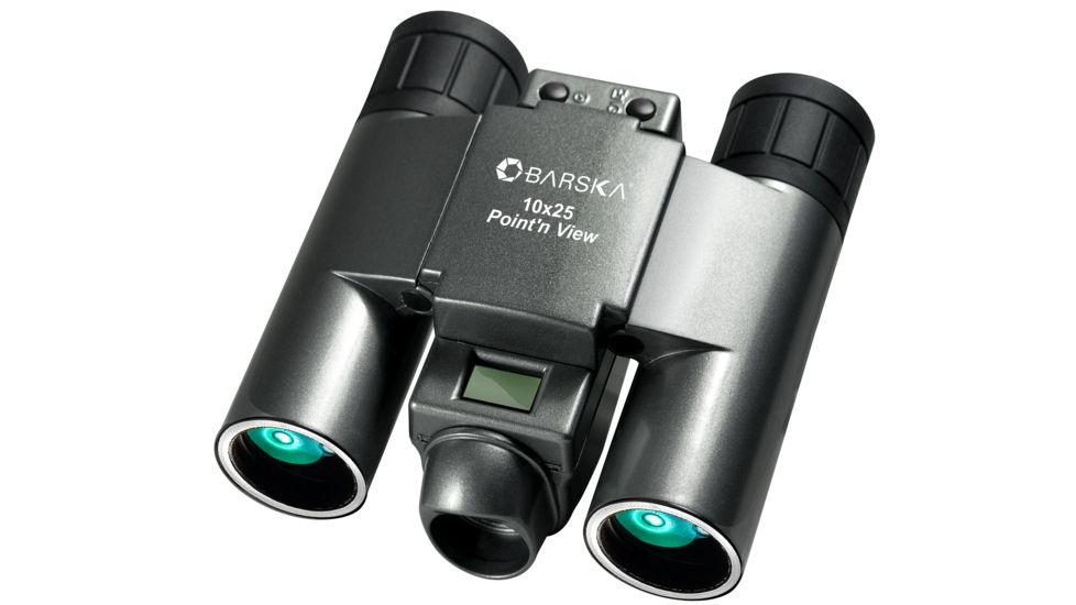 Barska 10x25 Point'n View Binocular Camera - VGA Binocam