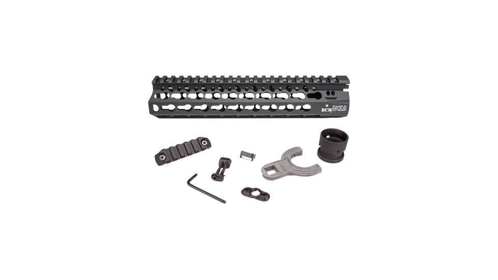 Bravo Company 9in KMR Alpha Keymod Rail for AR Rifles