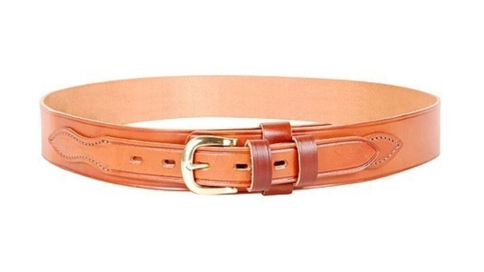 Bianchi B4 Ranger Belt - Basket Tan, Brass Buckle