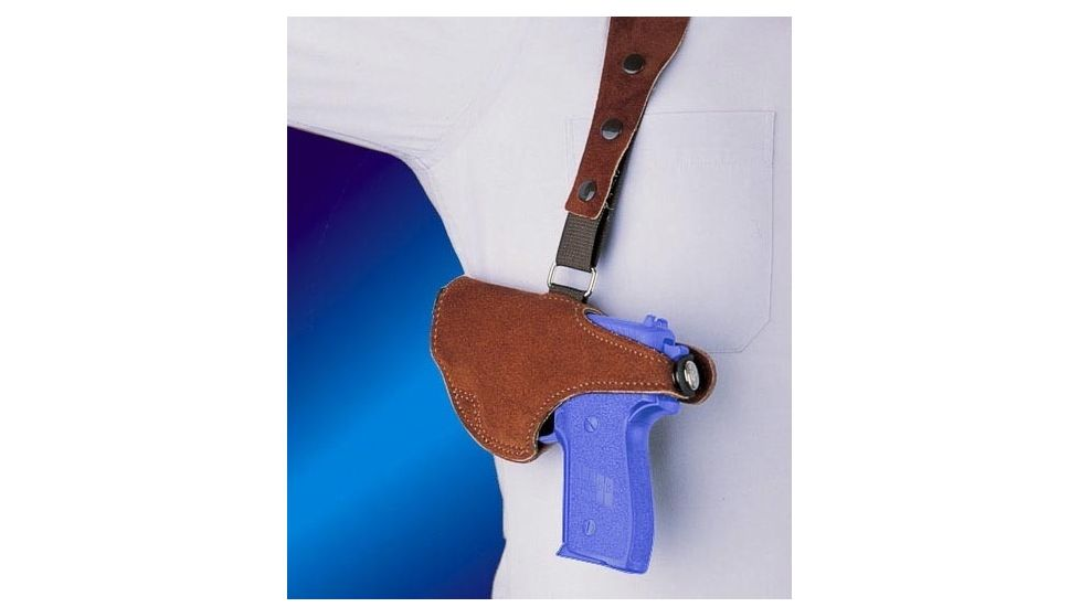 Bianchi 215 Hawk Shoulder Holster - Suede, Left Hand 15552