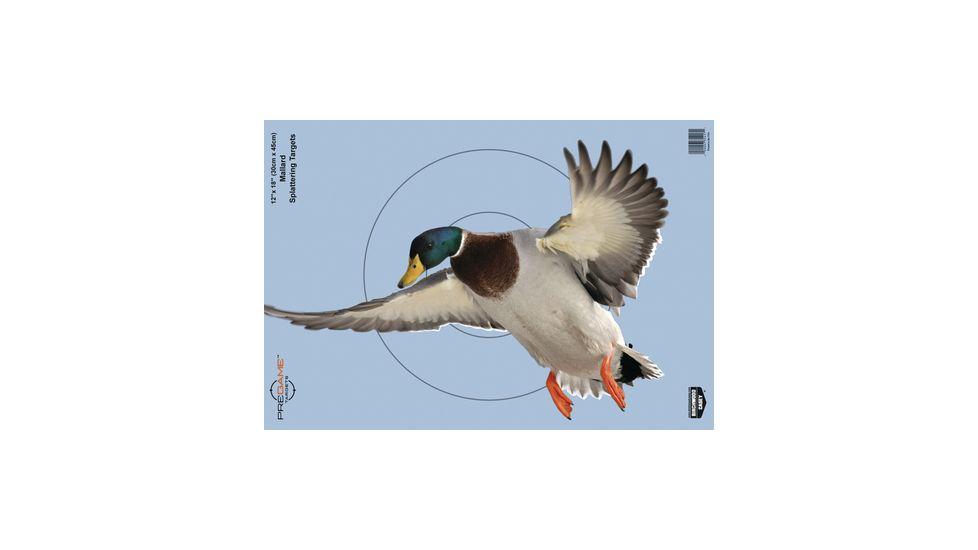 Birchwood Casey Dirty Bird PreGame Animal Targets Duck 12x18 Inch 8 Per Package 35407