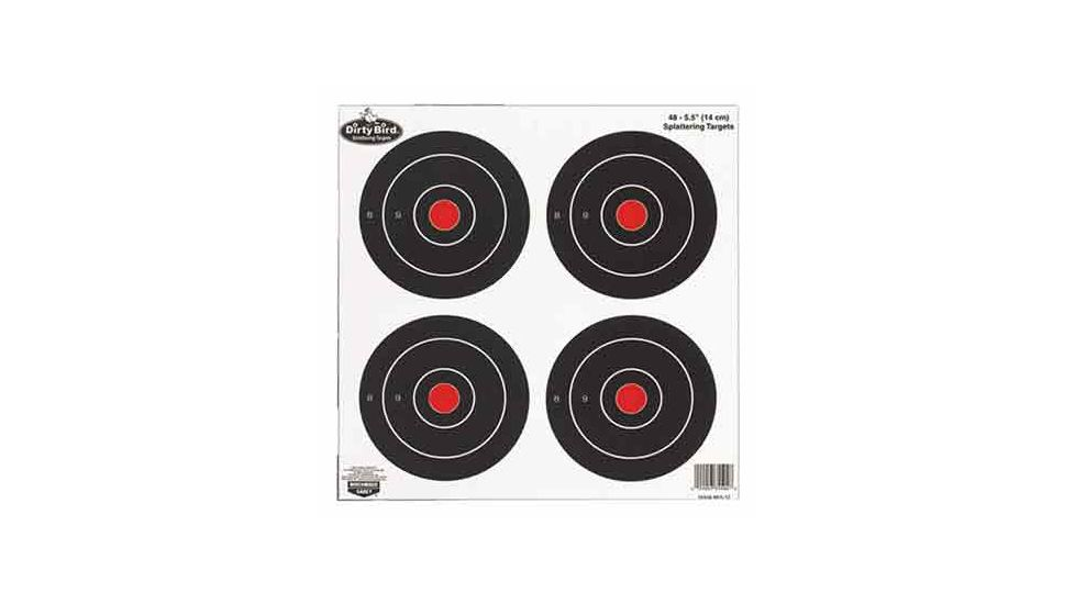 Birchwood Casey Dirty Bird Splattering Targets 6 Inch Round