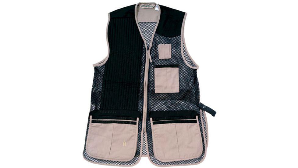 Bob Allen 255M Shooting Vest - Full Mesh & Suede