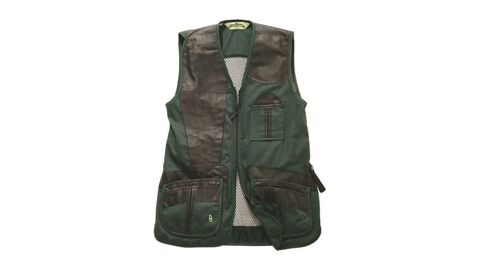 Bob Allen 280M Shooting Vest - Mesh Back & Leather