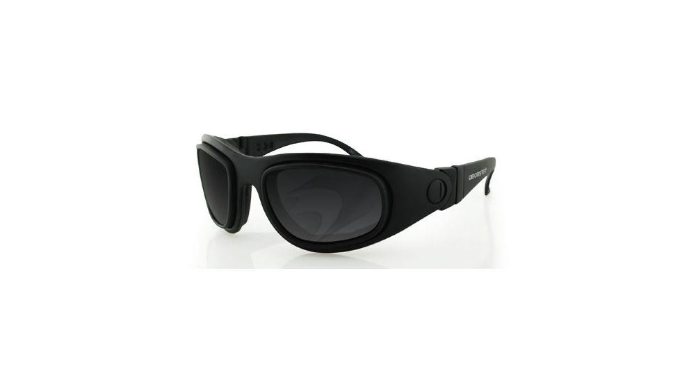 Bobster Sport & Street Interchangeable RX Prescription Lenses Black Frame Convertible Goggles - Sunglasses