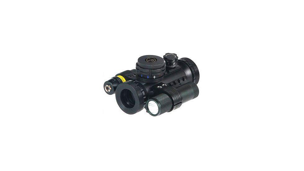 BSA Optics Stealth Tactical Illuminated 20mm Red Dot Sight with Light