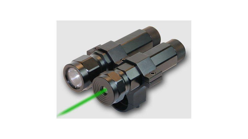 BSA Optics Varmint Hunter Pro LED Light & Green Laser LLSG