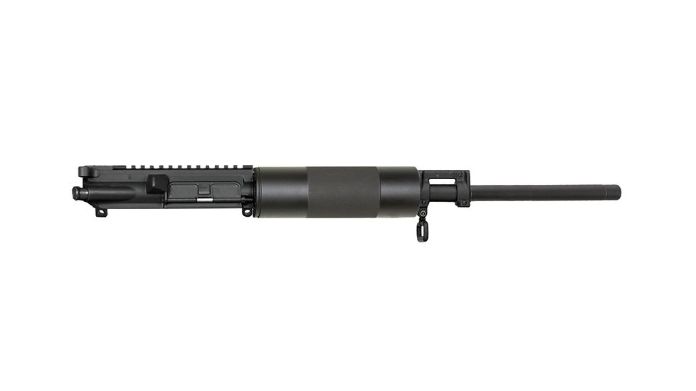 Bushmaster V-Match Complete Upper Assembly 5.56mm NATO/.223 Remington 16 Inch Heavy-Profile Match Grade Chrome Lined Barrel T-Marked Flat Top Upper Receiver Dark Gray Mil-Spec Finish 92194