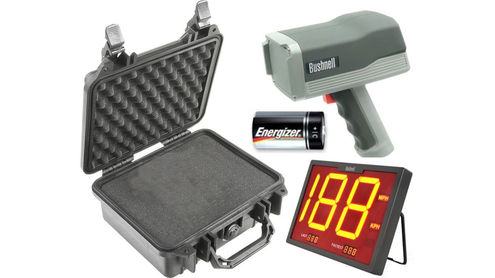 OpticsPlanet Exclusive Bushnell Speedster III Multi-Sport Radar Gun w/ LCD Display