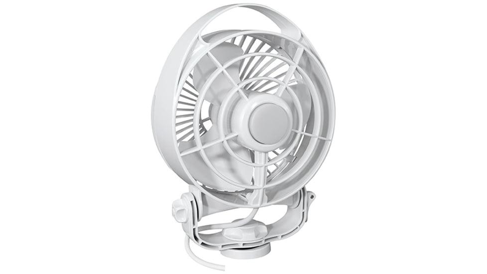 "Caframo Maestro 12V 3-Speed 6"" Marine Fan w/LED Light"