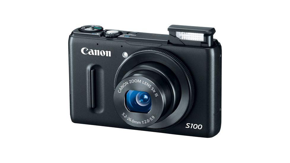 Canon PowerShot S100 Digital Camera -12.1 Megapixel, 5x Optical Zoom