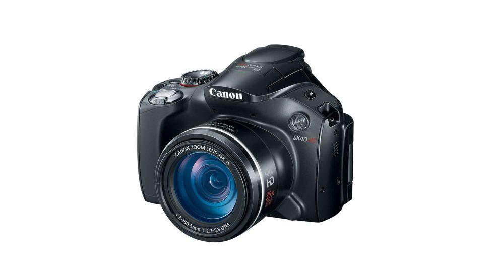 Canon Powershot SX40 HS Digital Camera - 12.1 MP, 35x Optical Zoom