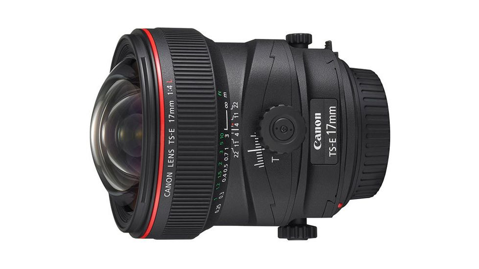 Canon TS-E 17mm f/4L Tilt-Shift Lens 3553B002