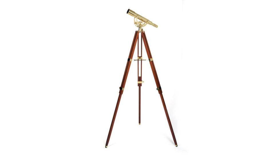 Celestron Ambassador 50mm 15-45x Brass/Mahogany Telescope