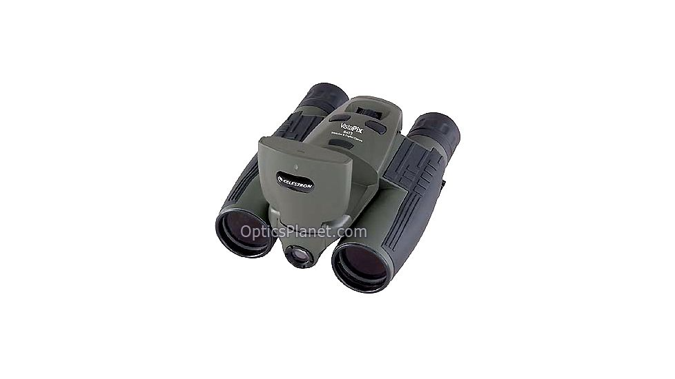 Celestron Vistapix 8x32 Digital Camera Binocular 3.1 MP w/ LCD - Hunter Green 72215