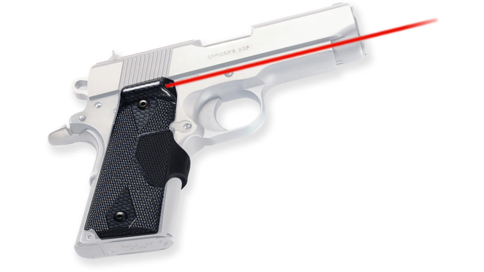 Crimson Trace Pro-Custom Carbon Fiber Lasergrips LG-401P4 for 1911 and 1991A1 Full-Size