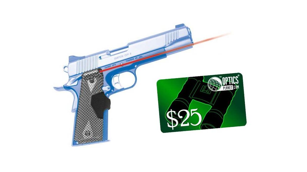 Crimson Trace Chainmail III Lasergrip 1911 Government Commander