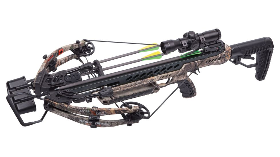 CenterPoint Gladiator Whisper 405 Compound Crossbow Package