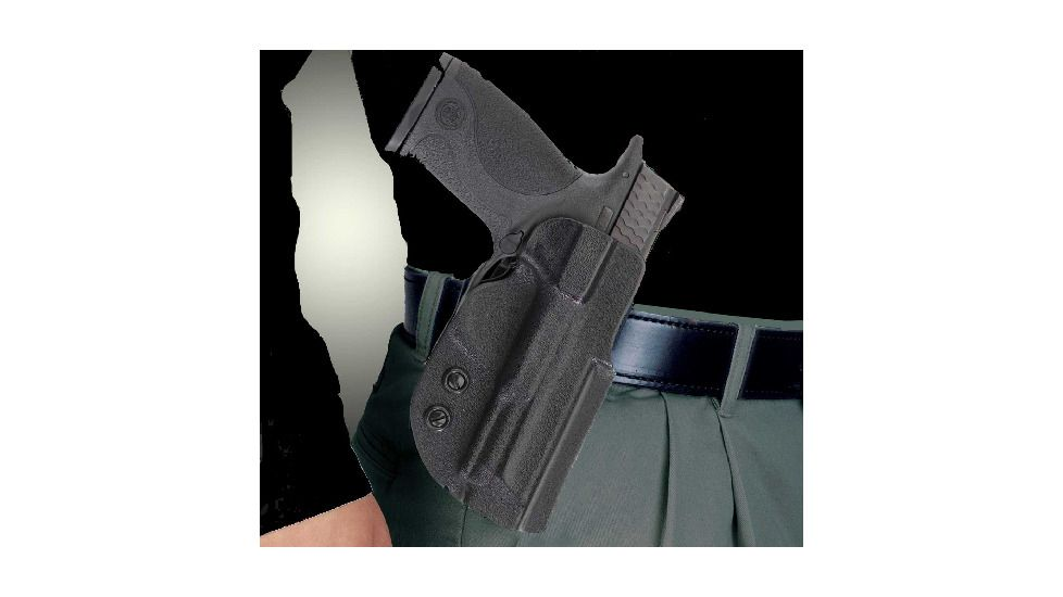 DeSantis Right Hand Black DS Paddle Holster D94KAM9Z0 - S&W M&P 9MM/40CAL