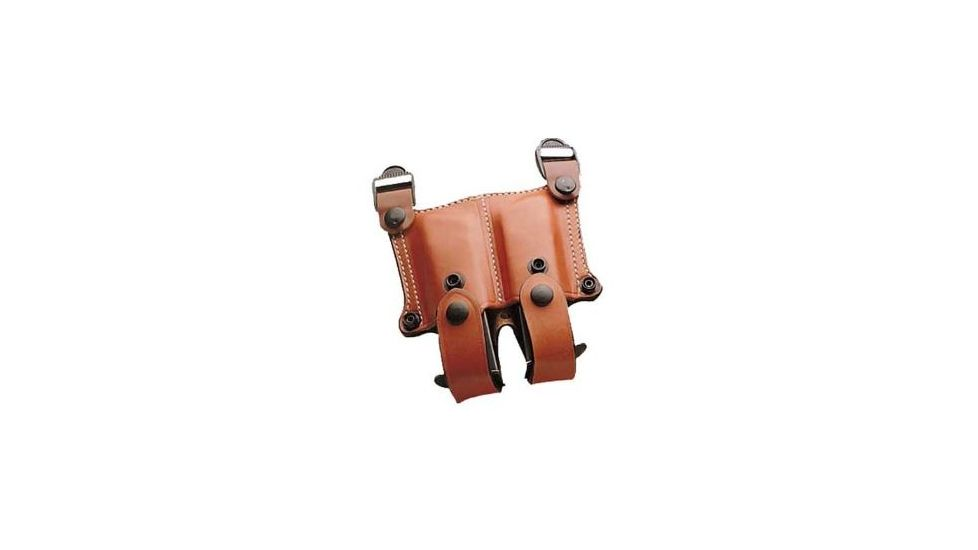 DeSantis Right Hand Tan New York Undercover Shoulder Holster w/ Double Mag Pouch 11DTAM8G0 - BERETTA PX4 STORM