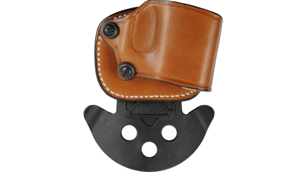 DeSantis Right Hand Tan Yaqui Paddle Holster 029TADAZ0 - FITS MOST DOUBLE ACTION AUTOS