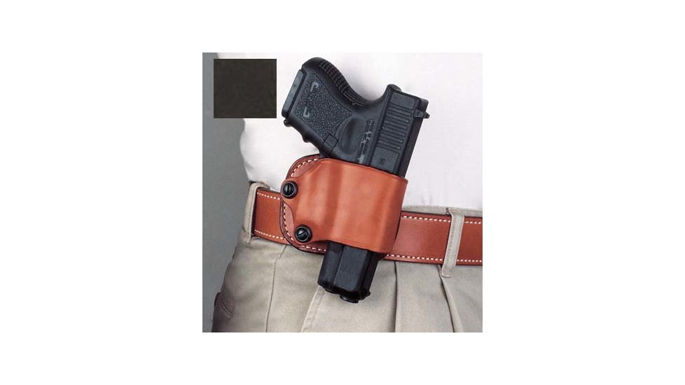 DeSantis Right Hand Black Yaqui Paddle Holster 029BASAZ0 - FITS MOST SINGLE ACTION AUTOS
