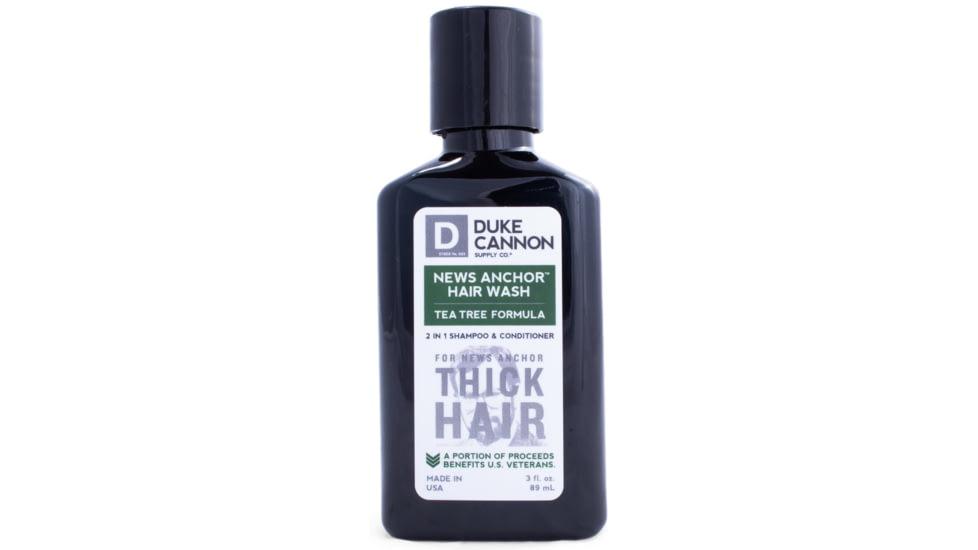 Duke Cannon Supply Co News Anchor 2-in-1 Tea Tree Hair Wash