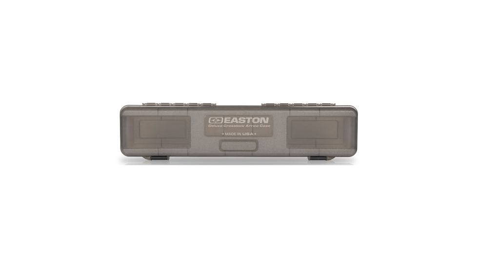 Easton Deluxe Crossbow Bolt Box, Holds 12 Xbow Bolts