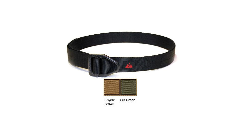 EOTAC A108 Instructor Belt - 5 Stitch - 1 1/2 Color Coyote Brown Size 34
