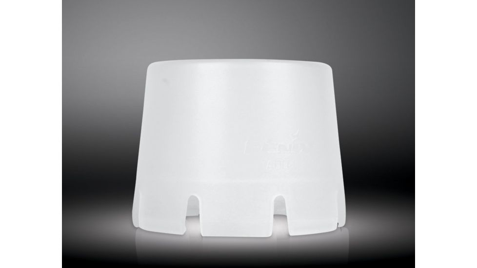 Fenix AOD-L Diffuser Tip for 63mm Diameter LED Flashlights - Works with TK40, TK41, and TK60, Clear Frost