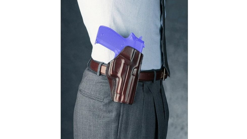 Galco Concealed Carry Left Handed Paddle Holster for Colt 3 Inch 1911