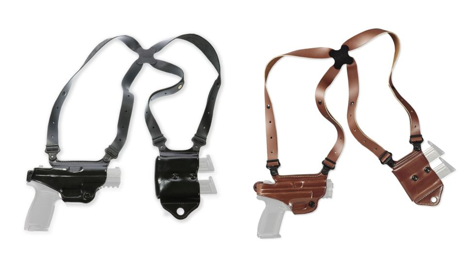 Galco Miami Classic II Shoulder Harness System, Leather