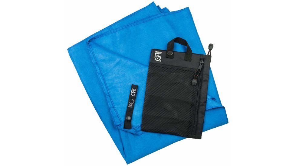 Gear Aid Microfiber Towel, Large, Blue