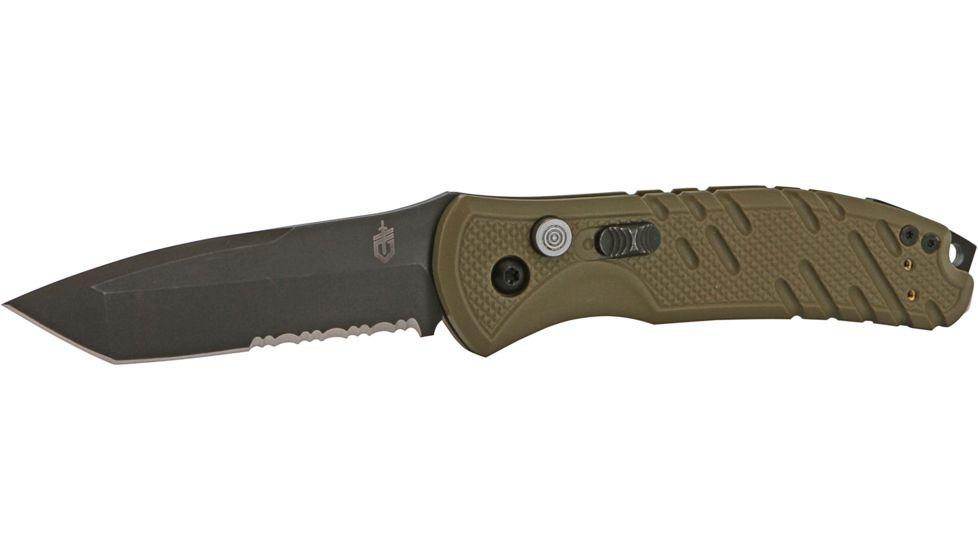 "Gerber Propel Downrange Auto Folding Knife - 8.52"" w/ Tan G-10 Handle, S30V"