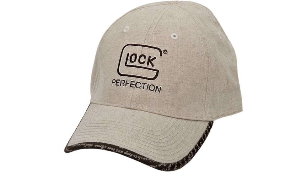 Glock AS00080 2nd Amendment Perfection Hat Adjustable Linen Tan