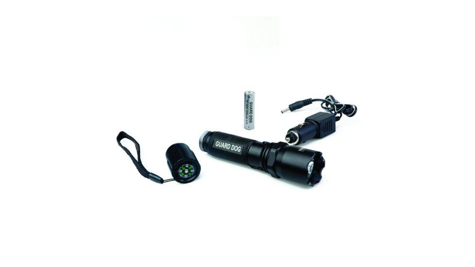 Guard Dog Security 240 Lumen Tactical Metal Rechargeable Flashlight