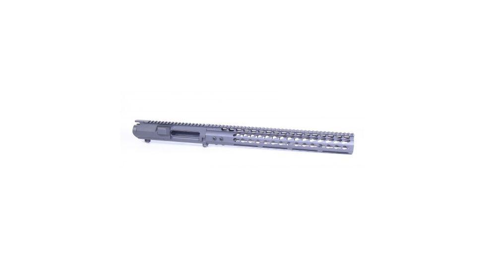 GUNTEC USA AR .308 Cal Stripped Billet Upper Receiver & 15in Ultralight Series Keymod Handguard Combo Set