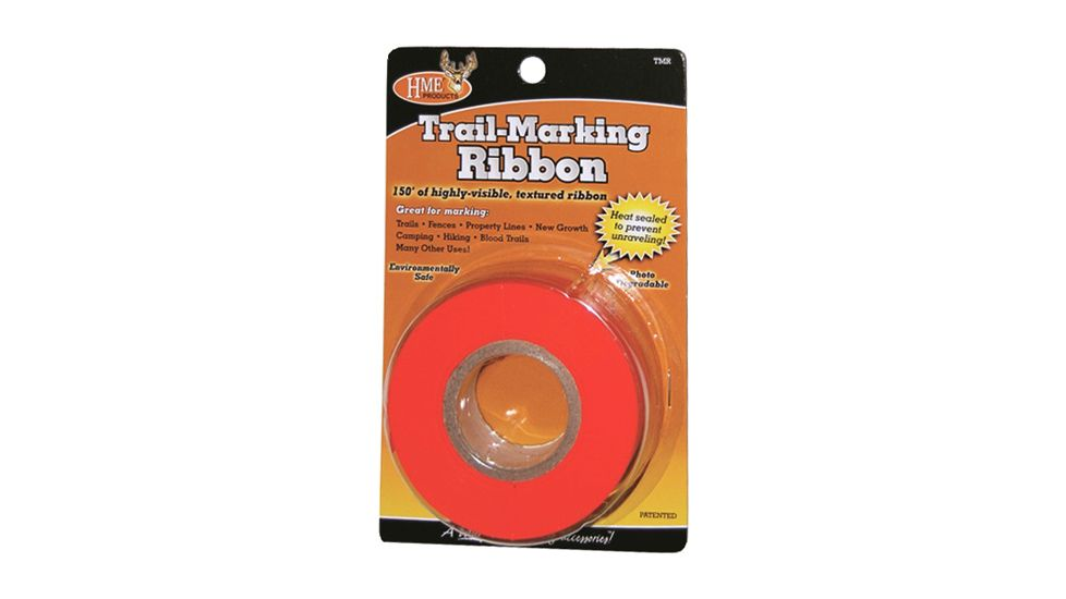 Hme Products Hme Trail Marking Ribbon Orange 150'