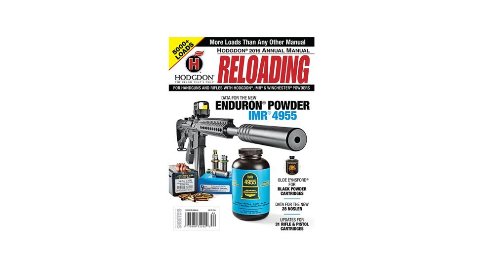 Hodgdon Powder Annual Reloading Manual 2016 AM16
