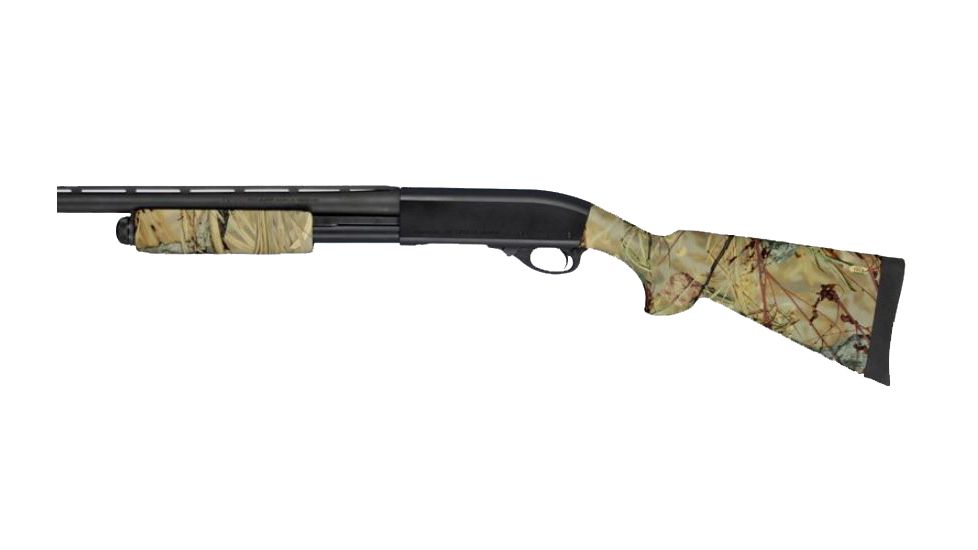 Hogue Remington 870 OverMolded Shotgun Stock kit with forend Wetlands 08512