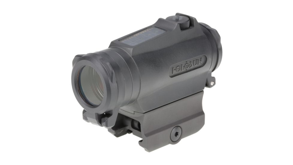 Holosun Micro Red Dot Sight 2 MOA Dot/65 MOA Circle Dot, Solar Fail-safe w/Red LED Reticle, Black, HE515CT-RD