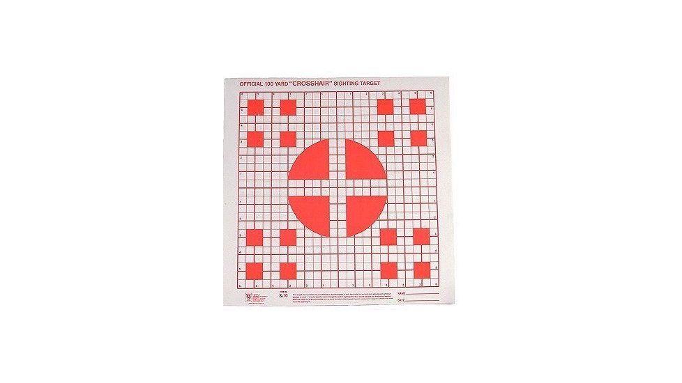 Hoppe's 9 100 yd. Multiple Crosshair Sighting Target 14x14 100 PK S10B