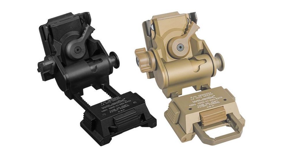 Trijicon Electro Optics Wilcox G24 Helmet Mount for IR Patrol M-Series