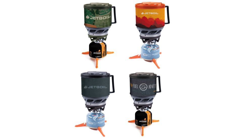 Jet Boil MiniMo 6000 BTU/h / 1.75 kW Personal Backpacking Stove Cooking System