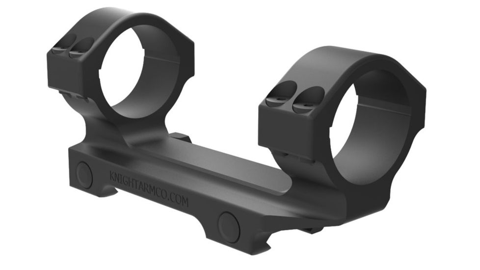 Knight's Armament Scope Mount Assembly, One Piece, 34mm with 30mm Ring Adapters