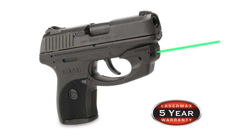 LaserMax CenterFire Green Laser Sight for Ruger LC9, LC9S, and LC380