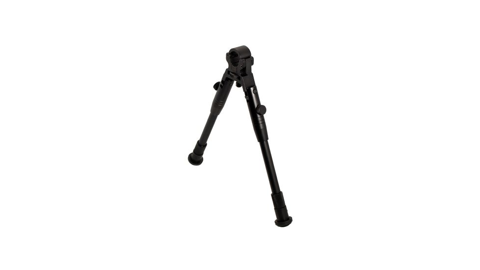 Leapers Low-Profile Dragon Claw Clamp-on Barrel Bipod- Rubberized Stands TL-BP08S
